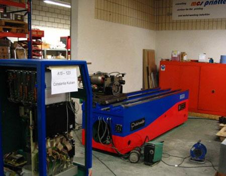 Zylinderfräschmaschine Revidiert Russland
